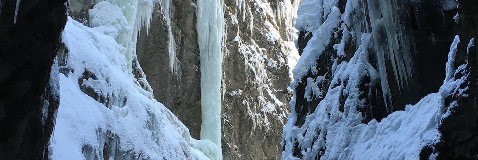 Garmisch-Partenkirchen-skistedet, Garmisch-Partenkirchen, Bayern, Tyskland