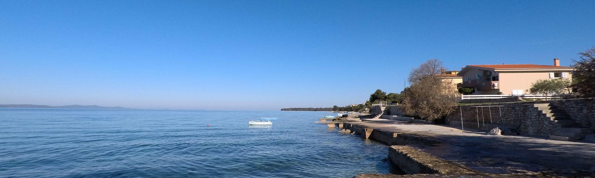 Ninska Laguna Beach, Nin, Croatia