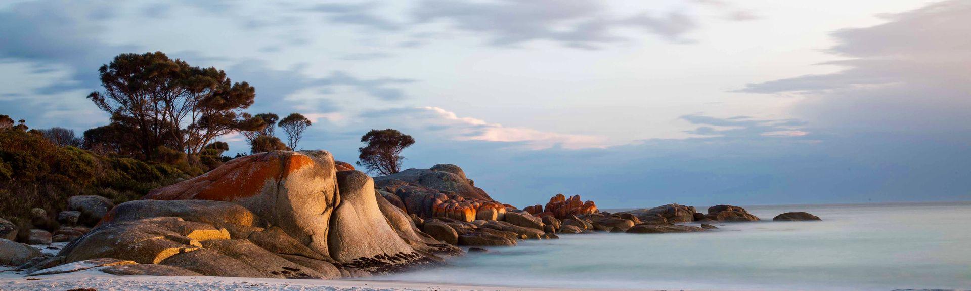 Scamander Beach, Scamander, Tasmania, Australia