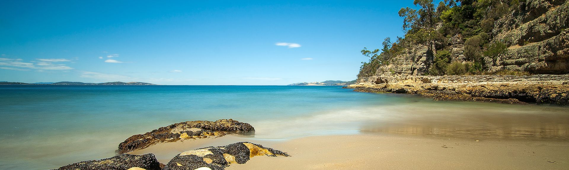 Kingston Beach, Hobart, Tasmanien, Australien
