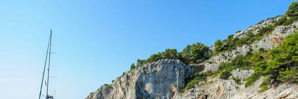 Poljica, Marina, Split-Dalmatien, Kroatien