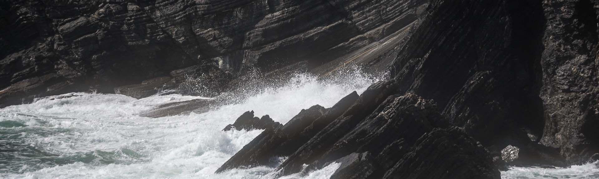 Ricco del Golfo di Spezia, Ligurien, Italien