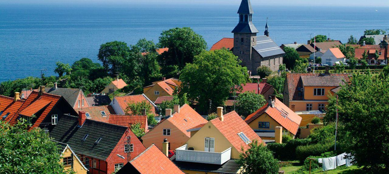 Gudhjem, Dänemark