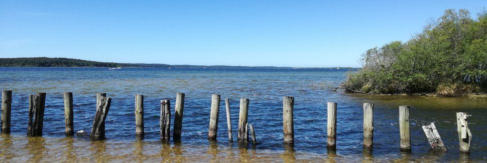 Praia de Contis, Saint-Julien-en-Born, Nova-Aquitânia, França