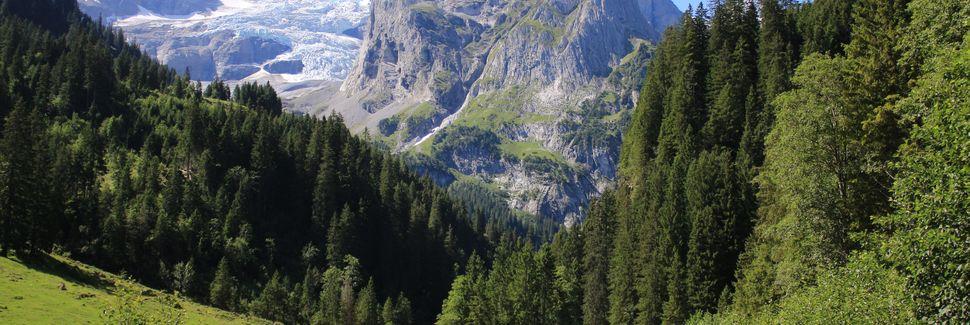 Wintersportplaats Engelberg - Titlis, Engelberg, Obwalden, Zwitserland