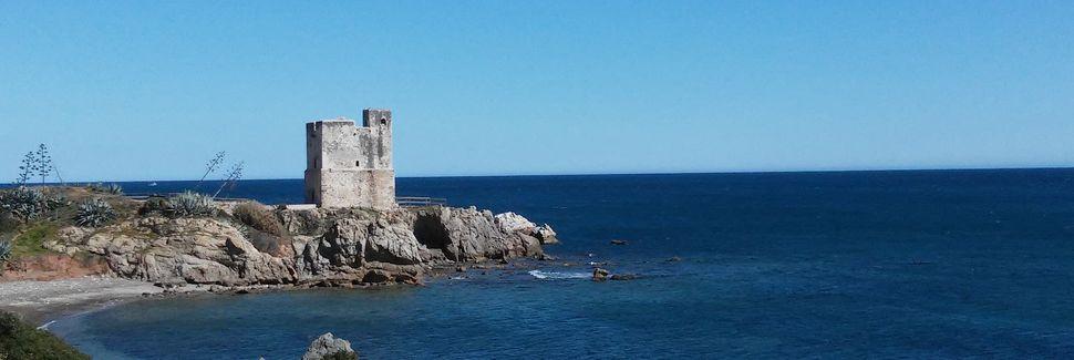 Spiaggia di Estepona, Estepona, Andalusia, Spagna