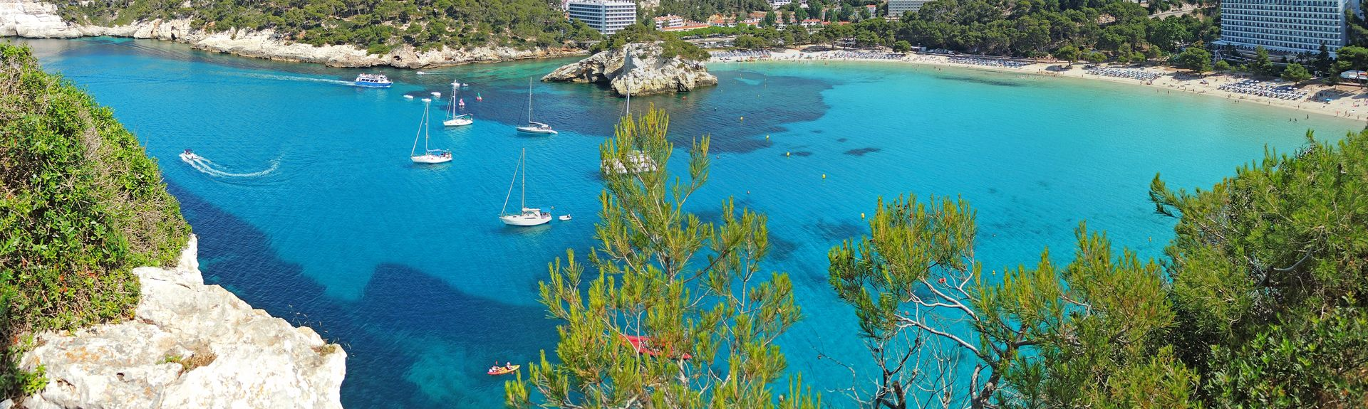 Cala Galdana, Balearic Islands, Spain