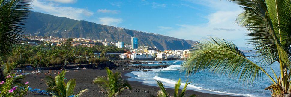 Puerto de la Cruz, Santa Cruz de Tenerife, Kanarische Inseln, Spanien