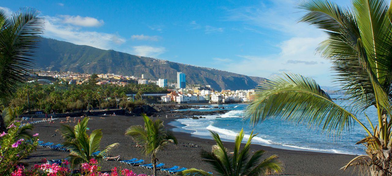 Puerto de la Cruz, Santa Cruz de Ténérife, Îles Canaries, Espagne