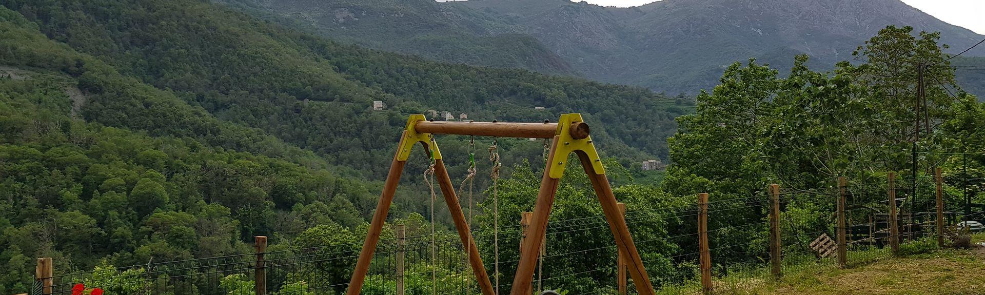 Station Vivario, Vivario, Haute-Corse, Frankrijk