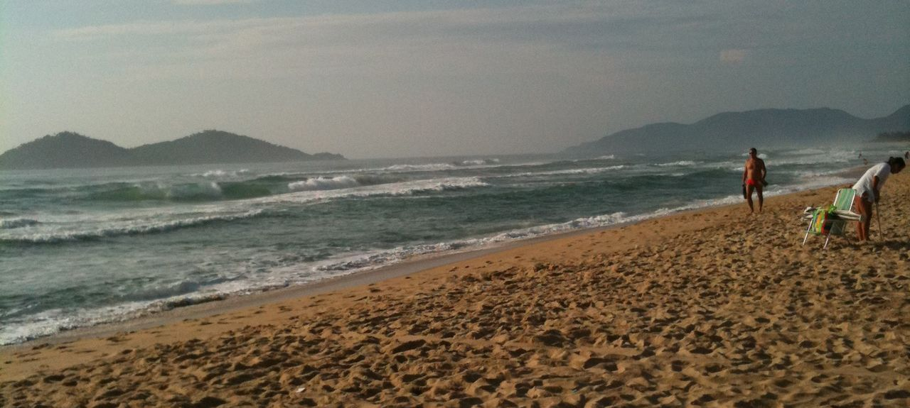 Praia de Sambaqui (Strand), Florianópolis, Santa Catarina, Brasilien