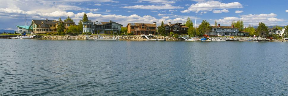 Tahoe Keys, South Lake Tahoe, California, Stati Uniti d'America