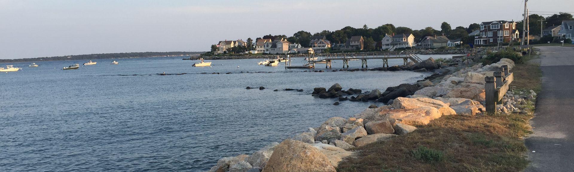 Roger W. Wheeler State Beach, Narragansett, Rhode Island, États-Unis