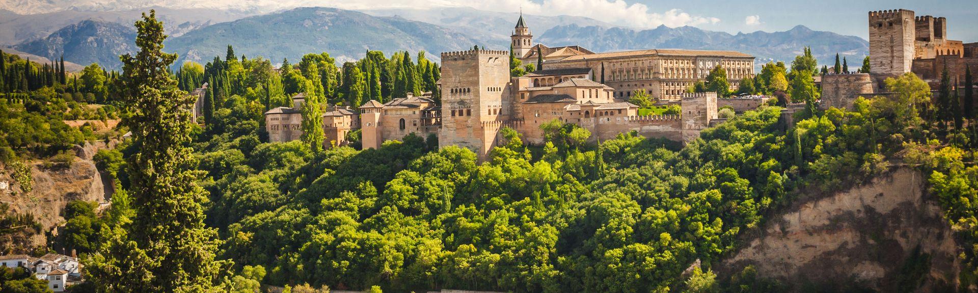 Granada, Vega de Granada, Andalusien, Spanien