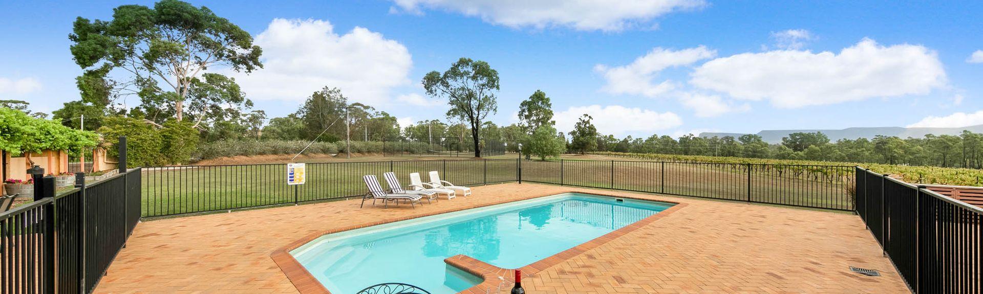 Bimbadgen Estate, Pokolbin, New South Wales, Australia