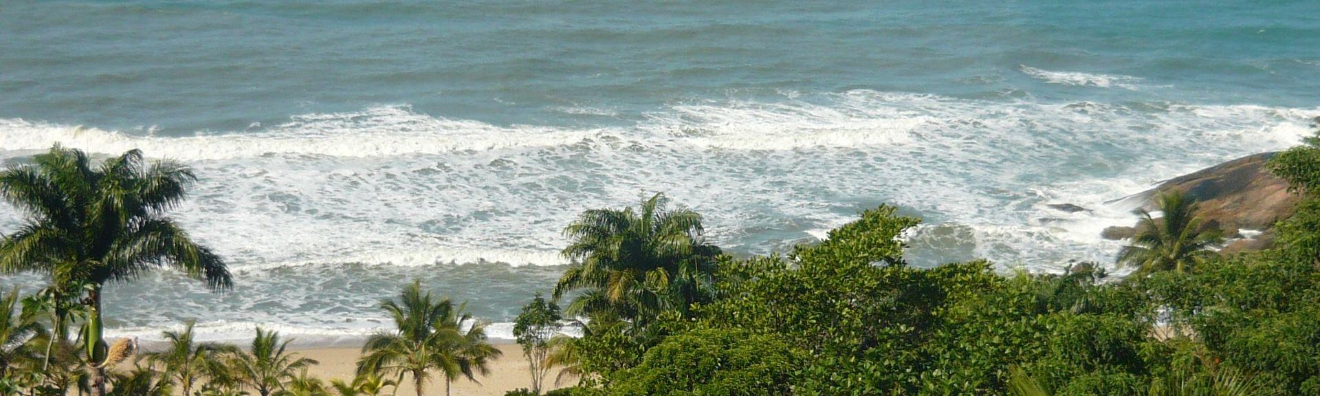 Almada Beach, Ubatuba, Brazil