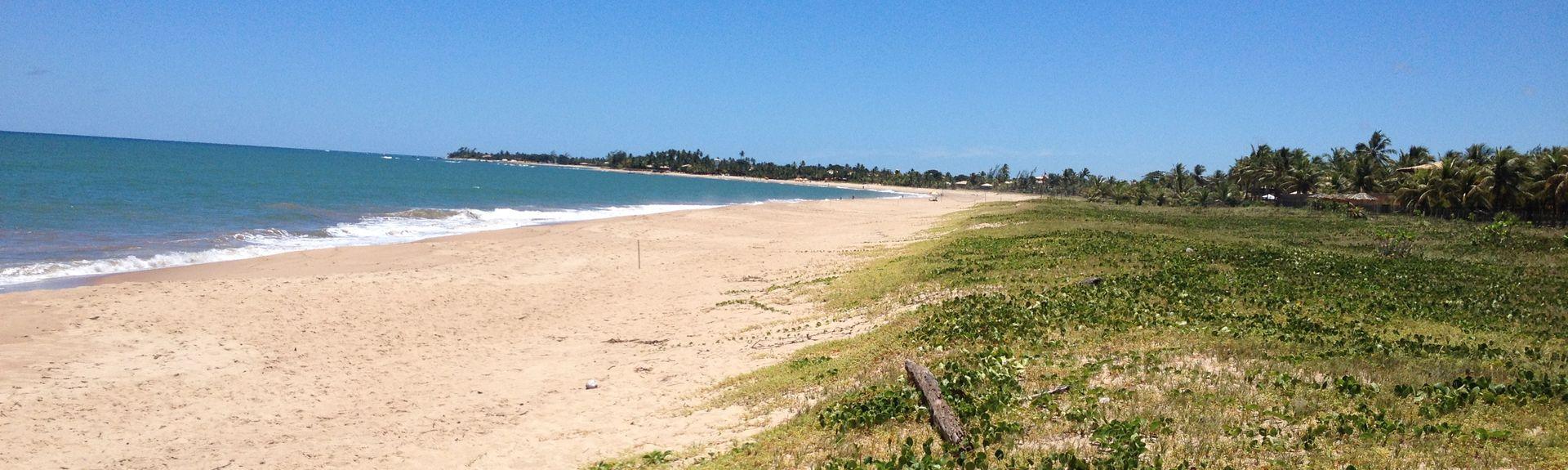 Praia de Interlagos, Camaçari, Bahia, Brasil