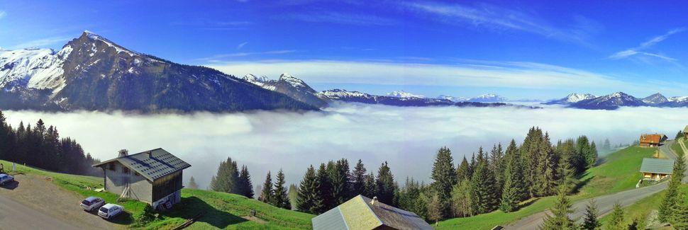 Morzine, Auvérnia-Ródano-Alpes, França