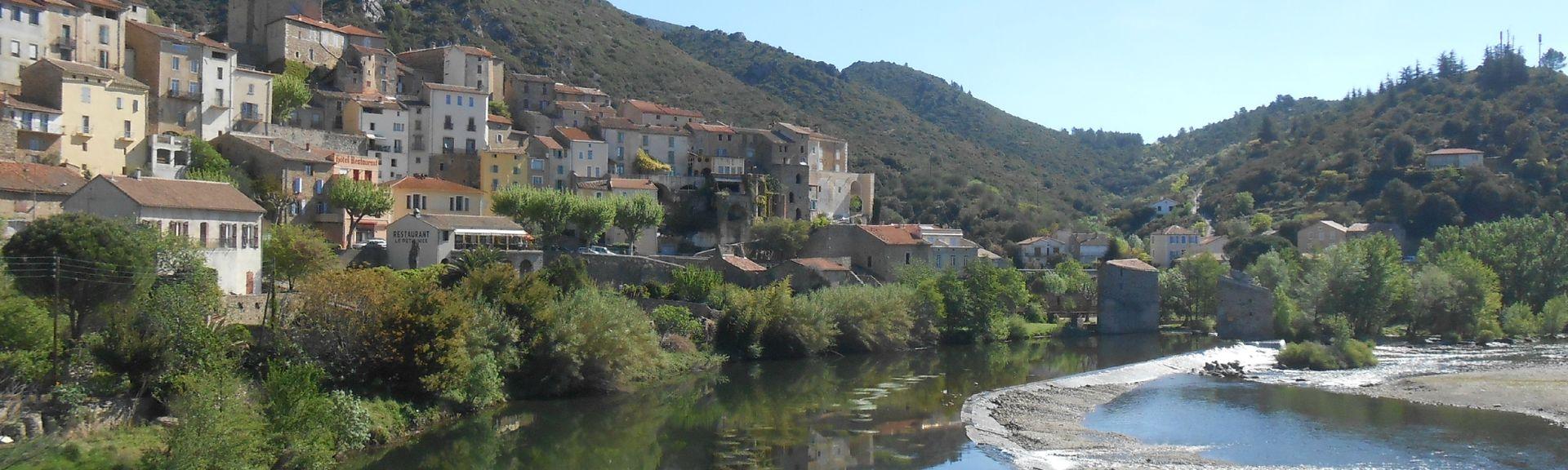 Roquebrun, Hérault (departement), Frankrijk