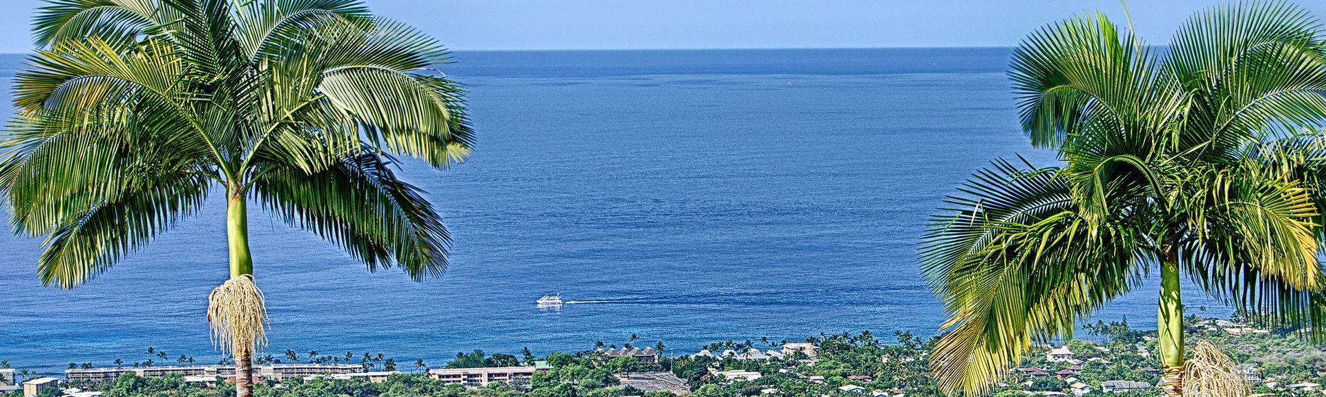 Kua Bay (baie), Kailua-Kona, Hawaï, États-Unis d'Amérique