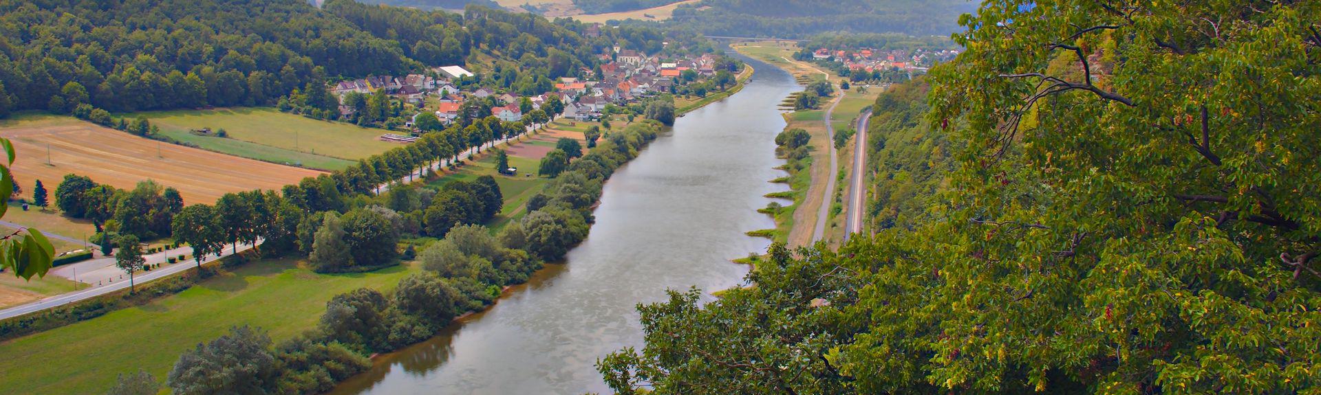Bad Karlshafen, Hessen, Deutschland