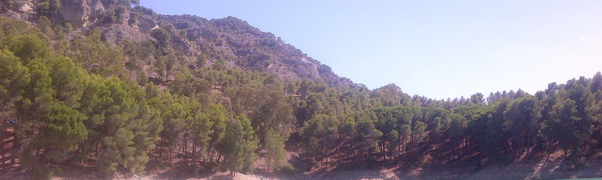 Valle de Abdalajís, Andalousie, Espagne