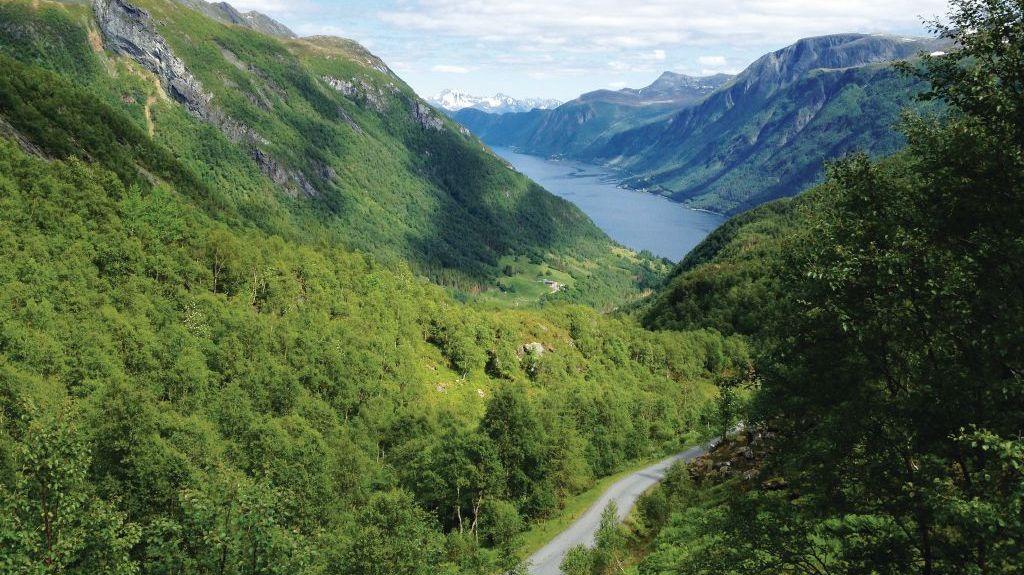 Nordfjord, Gloppen, Comté de Sogn og Fjordane, Norvège