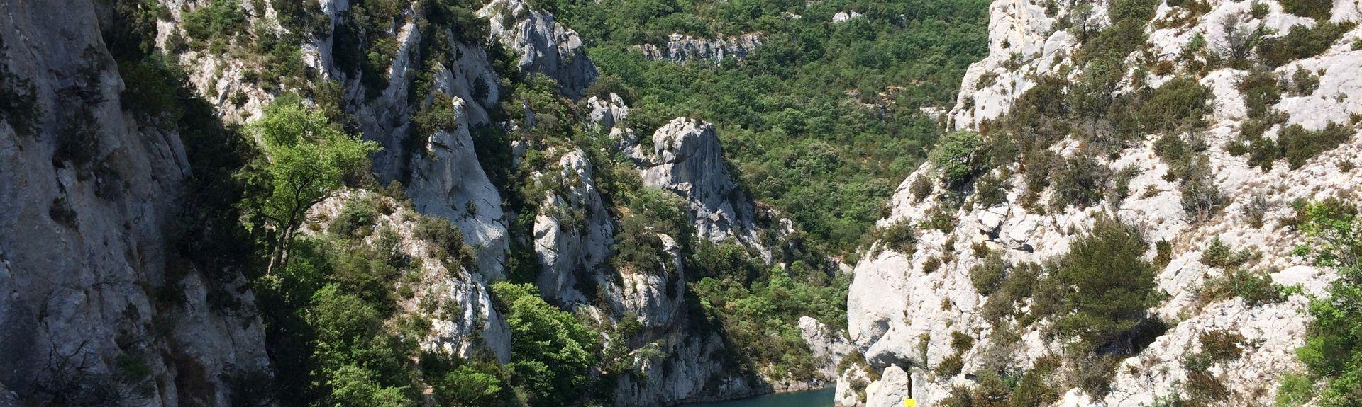 Sainte-Croix-du-Verdon, Département Alpes-de-Haute-Provence, Frankreich