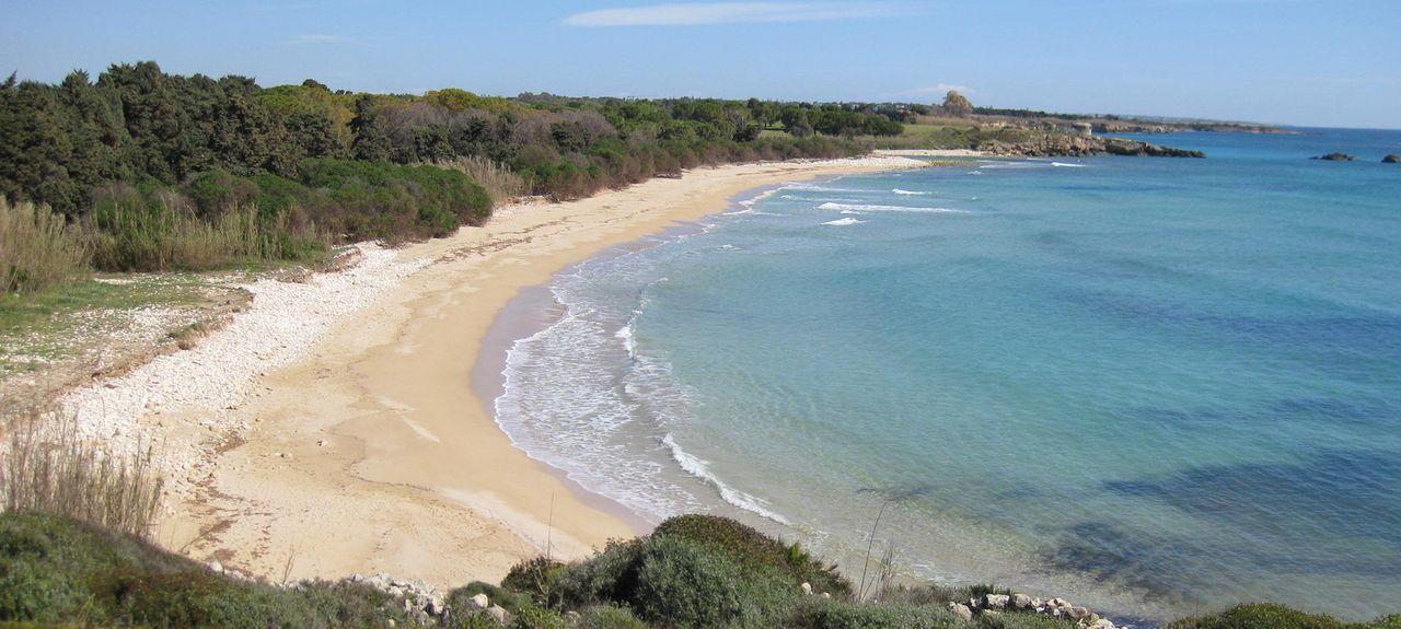 Fontane Bianche Beach, Fontane Bianche, Sicily, Italy