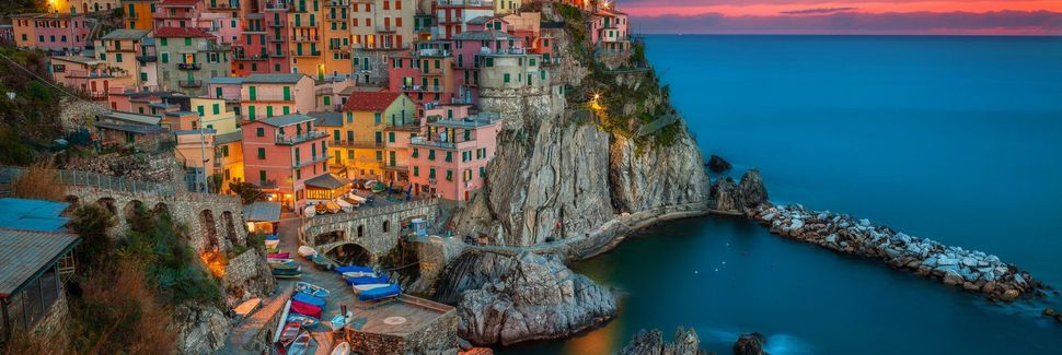 Spiaggia di Monterosso, Monterosso al Mare, Liguria, Italia