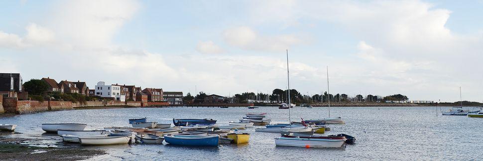 Portsmouth Internationale Havn, Portsmouth, England, Storbritannien