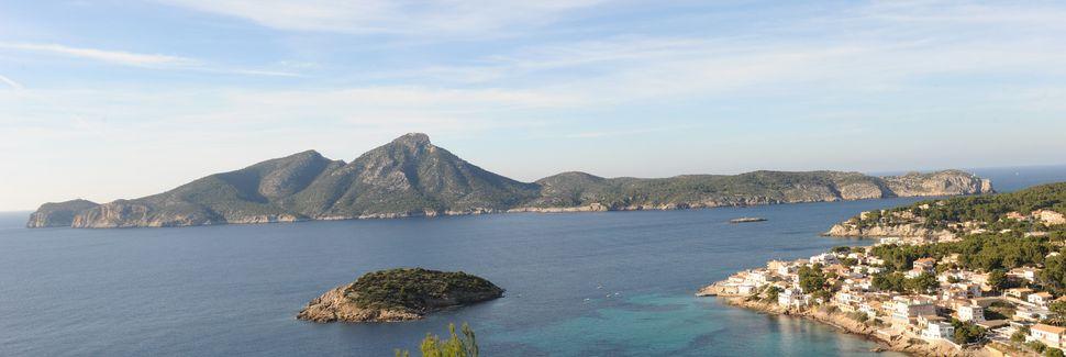 Cala d'Estellencs, Estellencs, les Îles Baléares, Espagne