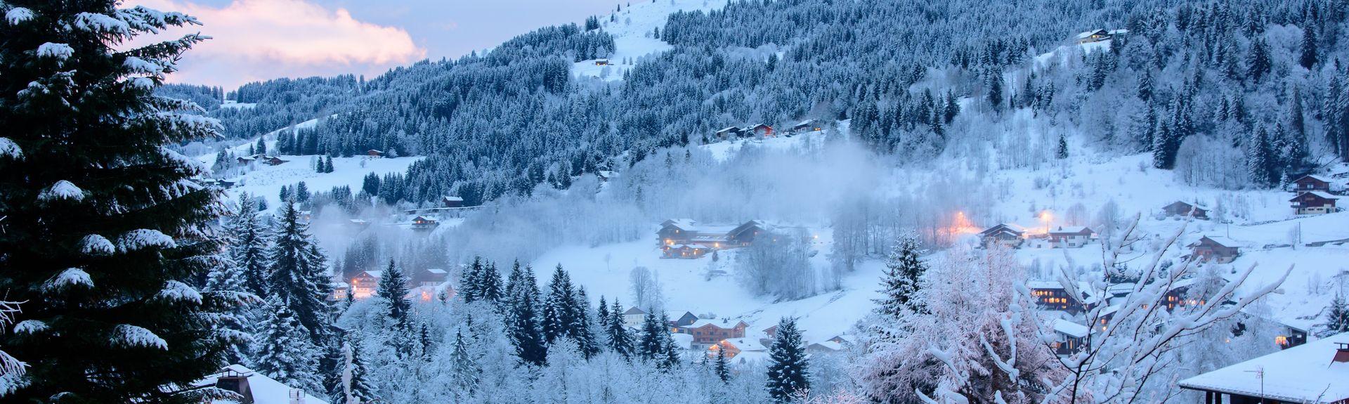 Les Gets, Haute-Savoie (department), France