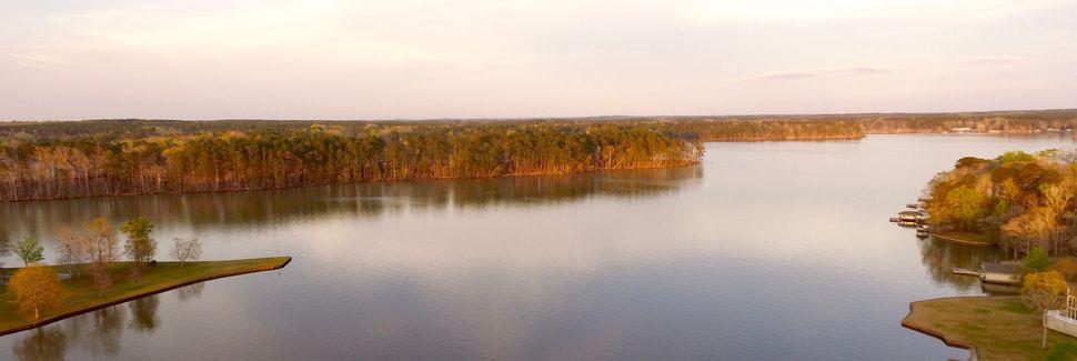 Lake Sinclair, Eatonton, Georgia, USA