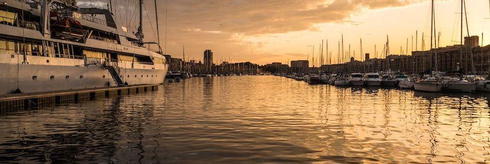 Porto Velho de Marselha, Marseille, Provence-Alpes-Côte d'Azur, França