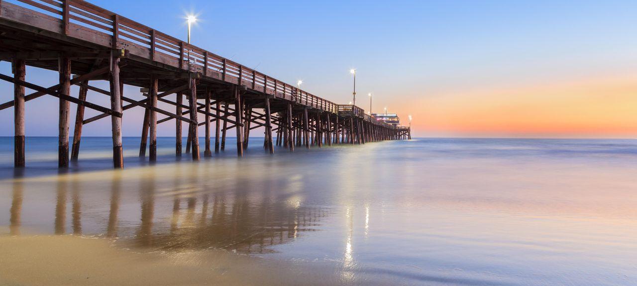 Newport Pier, Newport Beach, California, United States