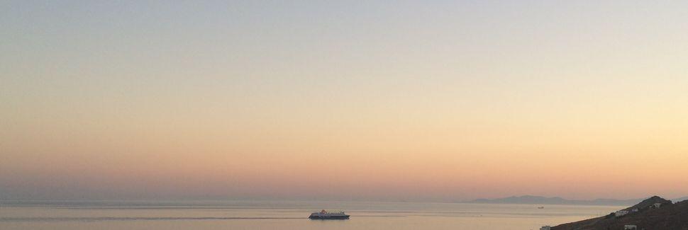 Agios Ioannis Diakoftis, Mykonos, Les îles Égéennes, Grèce