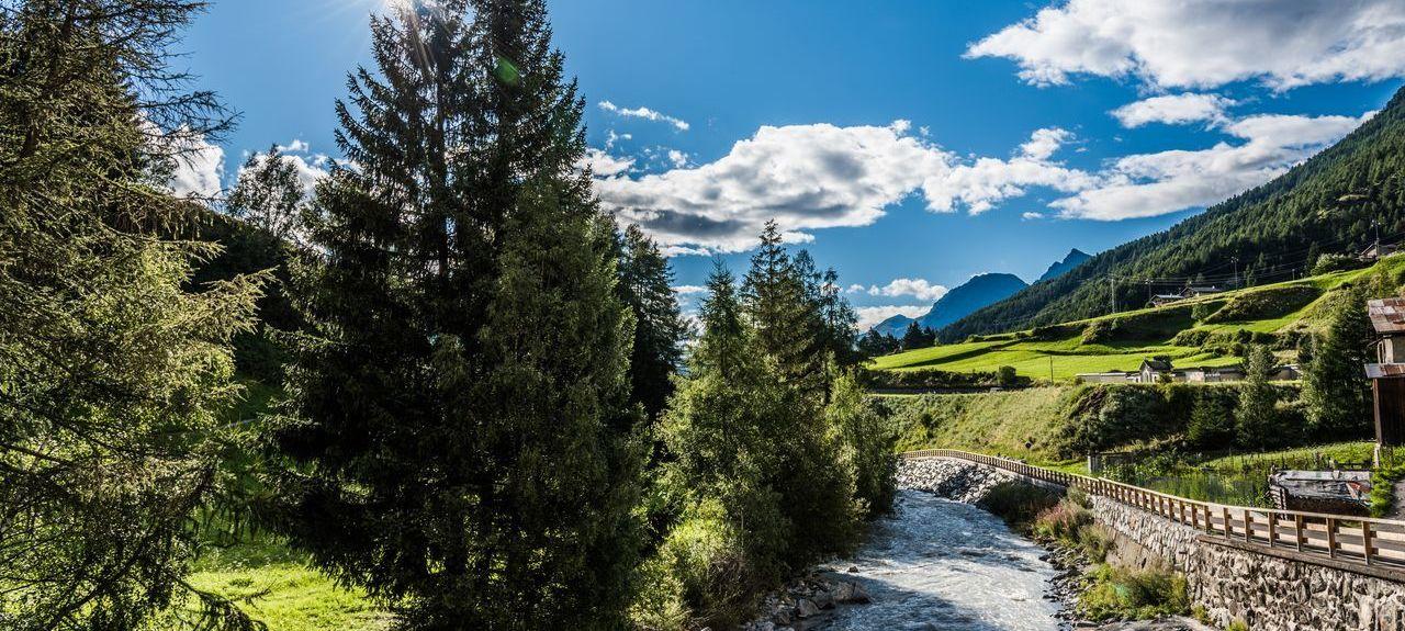 Ski area of Valtellina, Livigno, Italy
