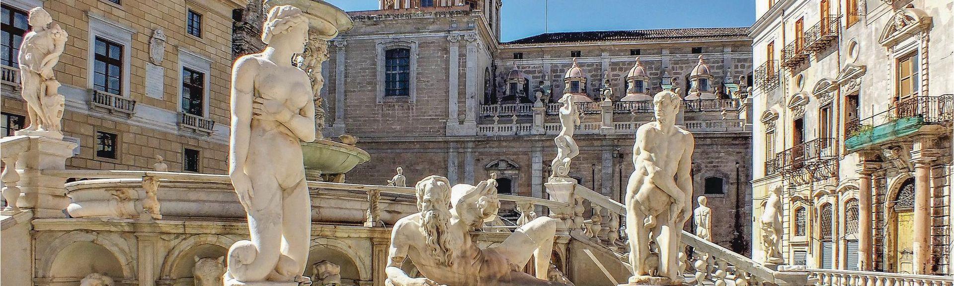 Villa Giulia, Palermo, Sicilia, Italia