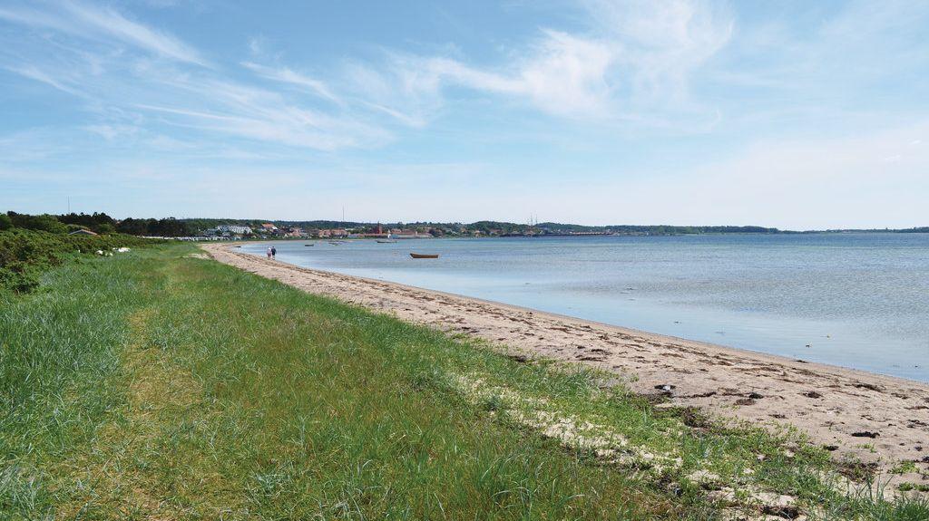 Egsmark Strand, Ebeltoft, Jutlandia Central, Dinamarca