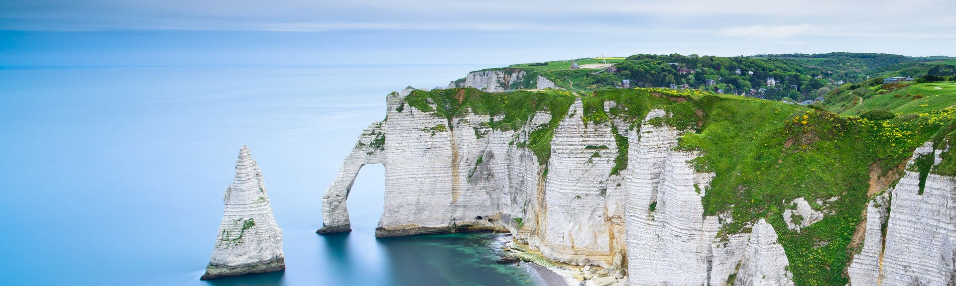 Étretat, Normandie, Frankreich