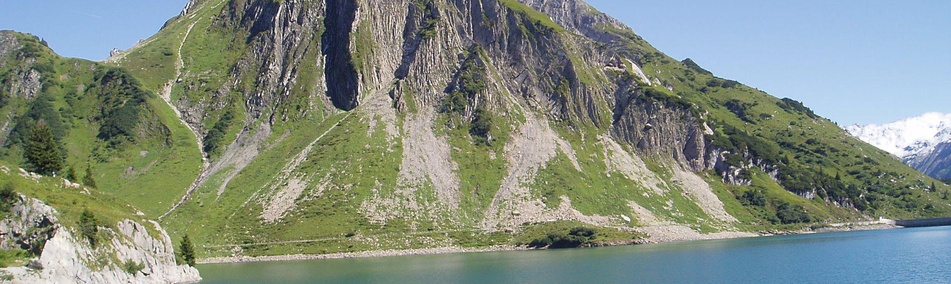 Area sciistica di Diedamskopf, Schoppernau, Vorarlberg, Austria