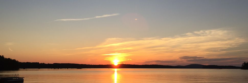 Belgrade Lakes Chain, Maine, Vereinigte Staaten