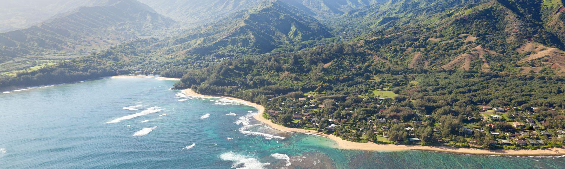 Haena, Hanalei, Hawaï, États-Unis d'Amérique