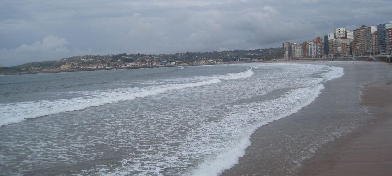 Gijon-Sur, Gijón, Asturias, Spain