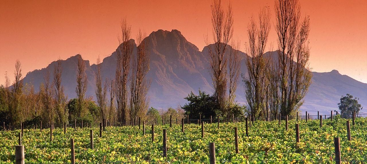 Franschhoek, Westkap, Südafrika