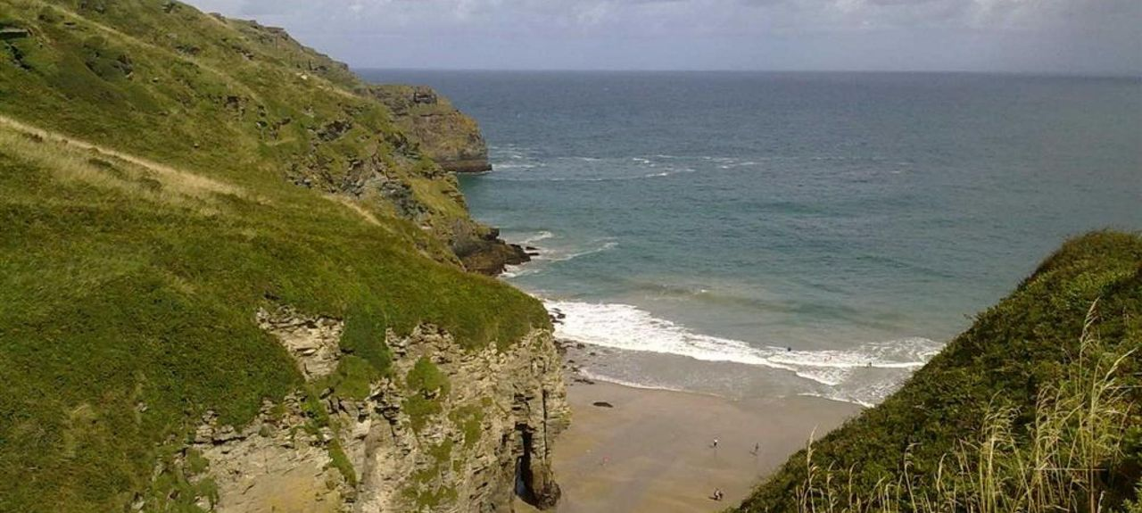 Trebarwith Strand, Cornwall, UK