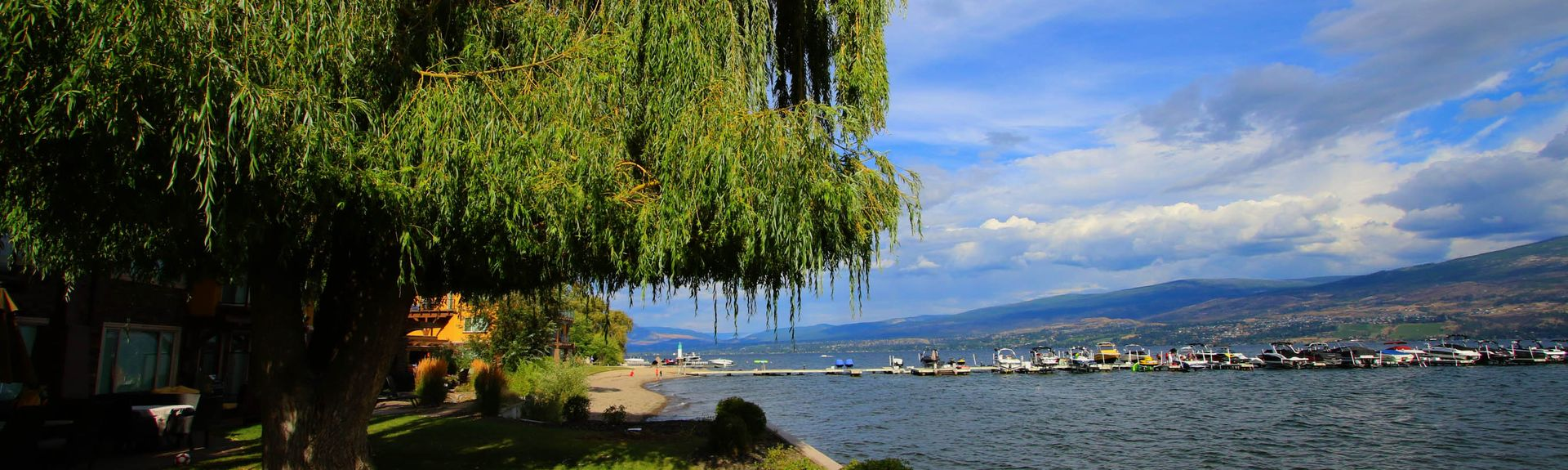 Barona Beach Lakefront Resort, West Kelowna, British Columbia, Canada