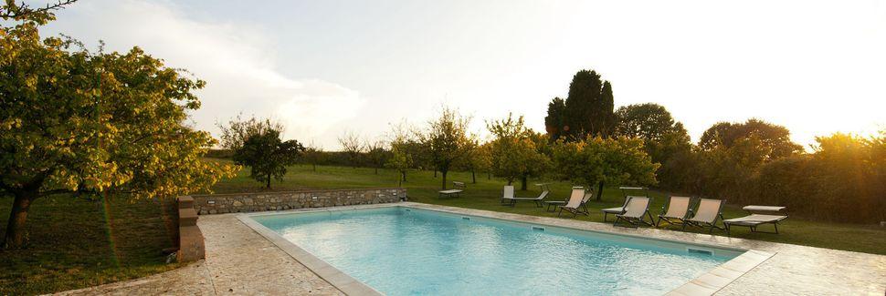Serre di Rapolano, Siena, Tuscany, Italy