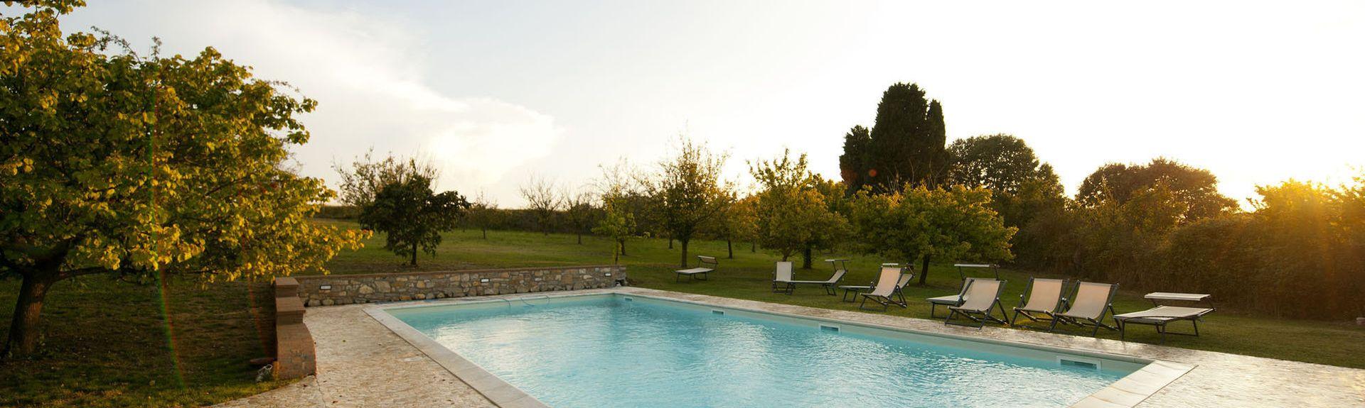 Castelnuovo Berardenga, Toscana, Italia